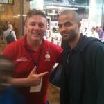 W/Tony Parker @ 2012 Olympics