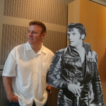 Frank with Elvis