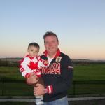 Daddy & Andrew - Calgary