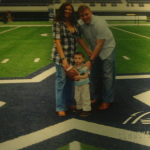 Sheltons' @ Cowboys Stadium