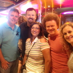 Frank and Ruth with Casting Crowns