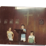 First Sermon Age 8 Summer 1980