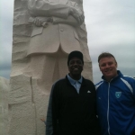 Frank & Meadowlark Lemon @ MLK - Wash DC