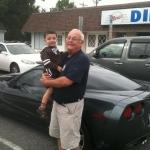 Grand-daddy & Andrew (Frank Sr Vette)